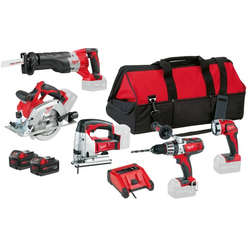 Kombipaket MILWAUKEE HD18 PP5A-32 B 18 V